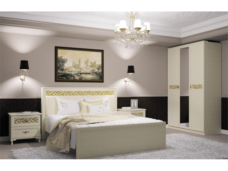 фото Спальня Ливадия белая