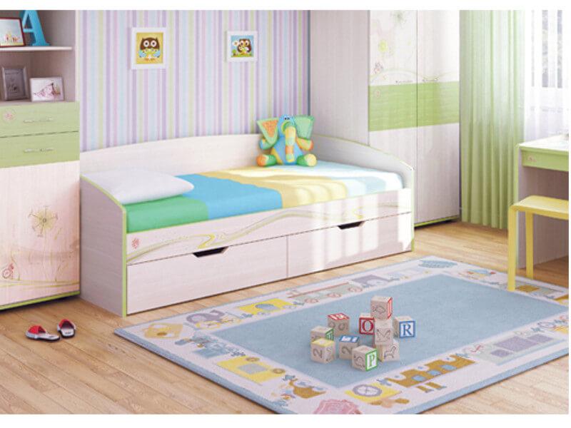 фото Кровать детская Акварель