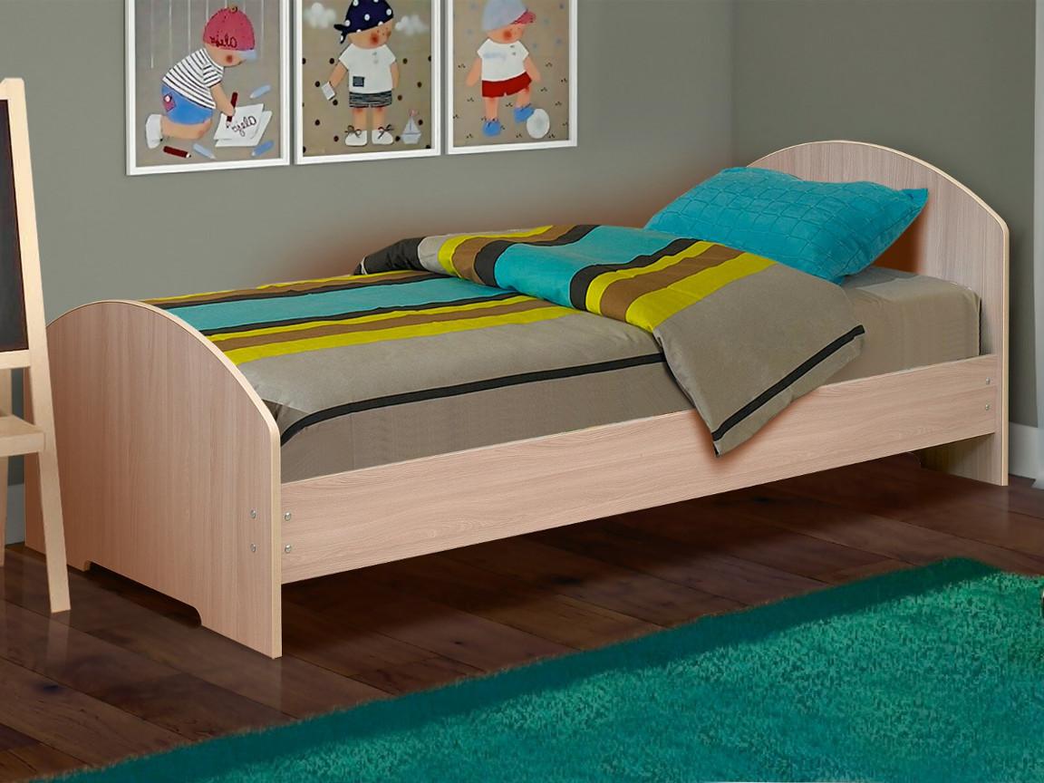 фото Кровать одинарная на уголках No 2 Матрица