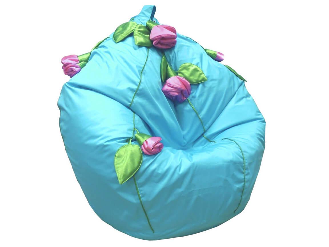 фото Кресло-мешок Розы нейлон