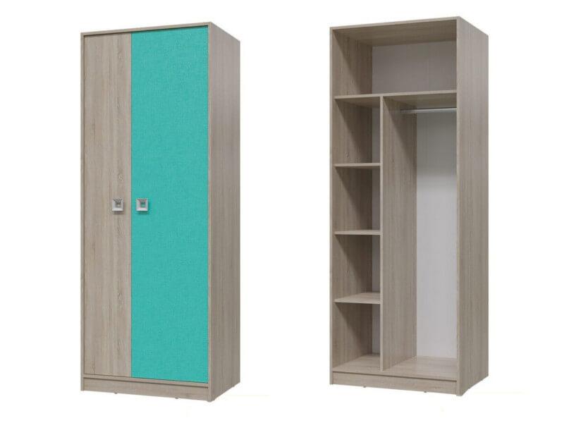Шкаф для одежды 6-9411 2105х800х585 мм