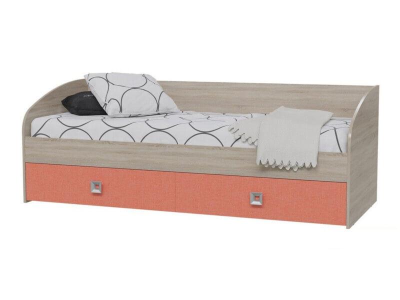 Кровать 4-2001 735х2045х875 Спальное место 800х2000 мм