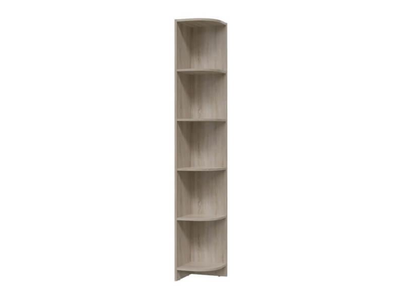 Шкаф стеллаж угловой 6-9415 1905х300х300 мм