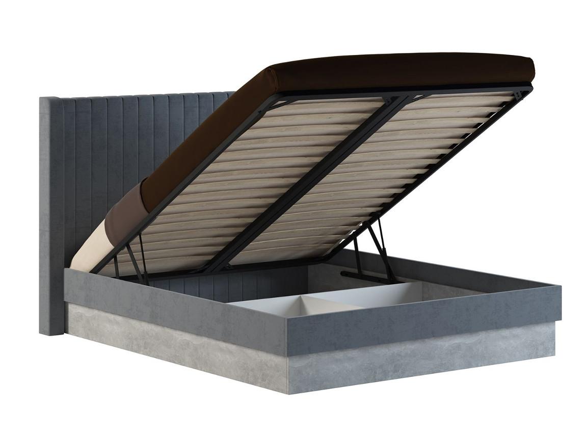 Кровать с подъемным механизмом 191621301250 мм