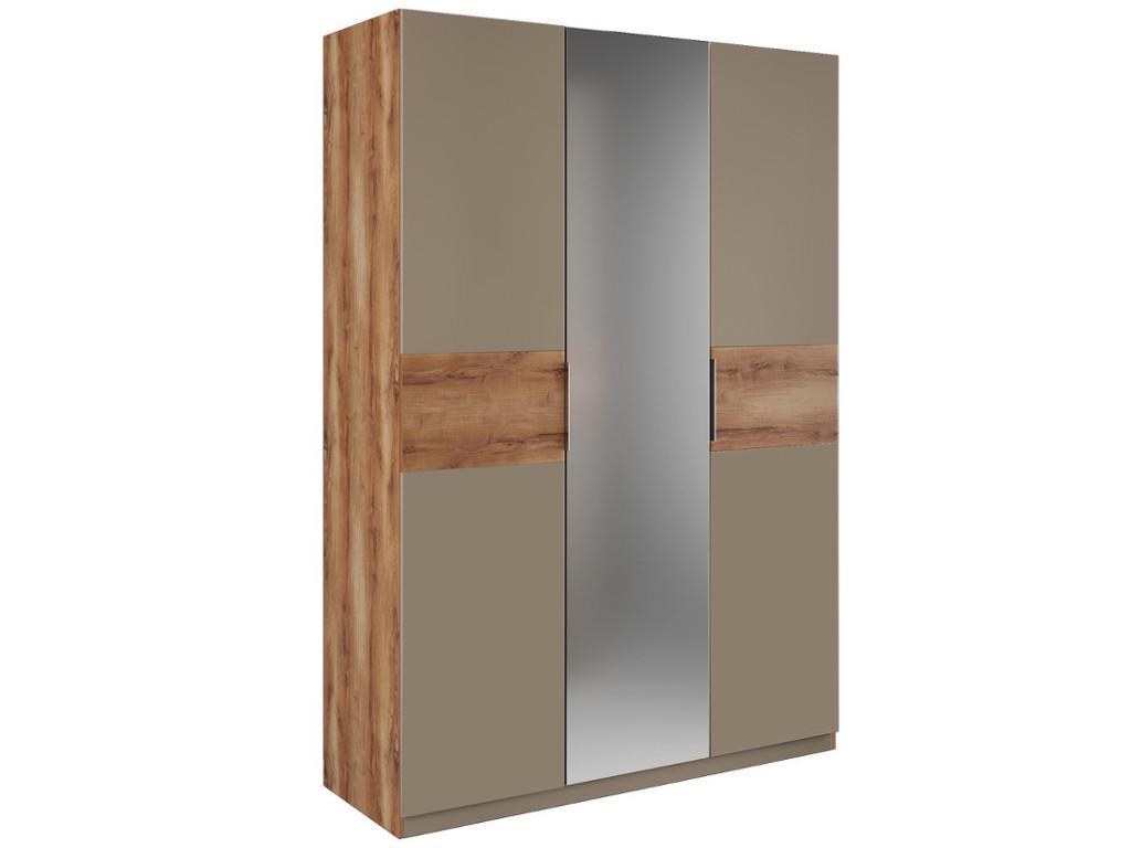 Шкаф 3 двери зеркало 1510х2240х580 мм