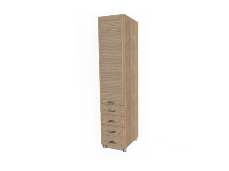 ШК-844 Шкаф для одежды и белья 2172х448х580