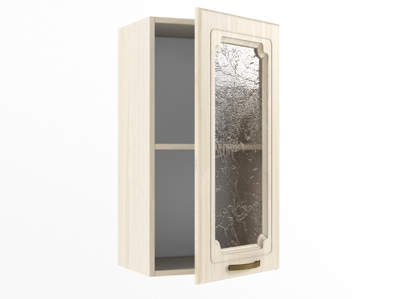 Верхний шкаф В 400 стекло 720х400х300