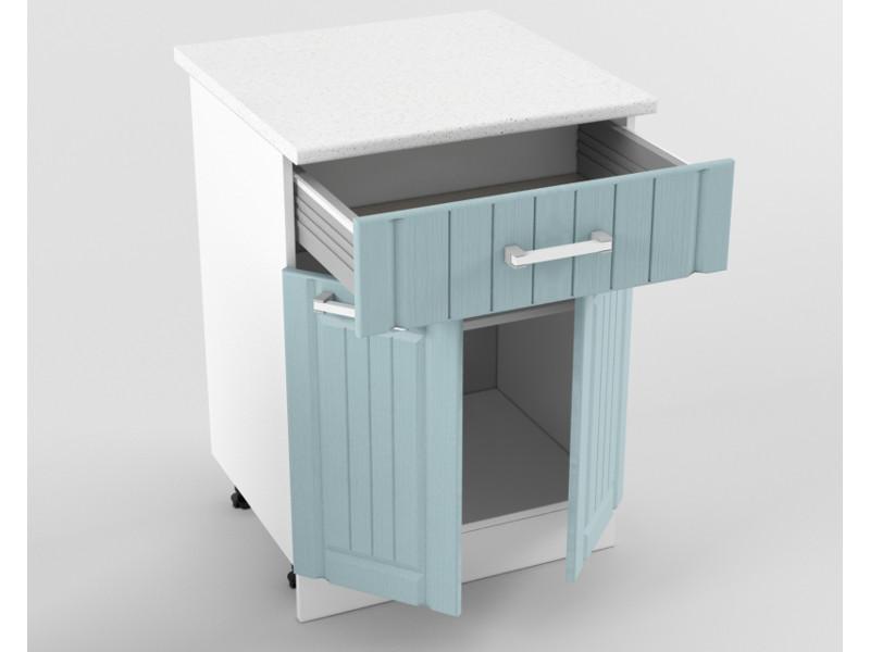 Нижний шкаф Н 600 1 ящик 2 двери 850х600х600