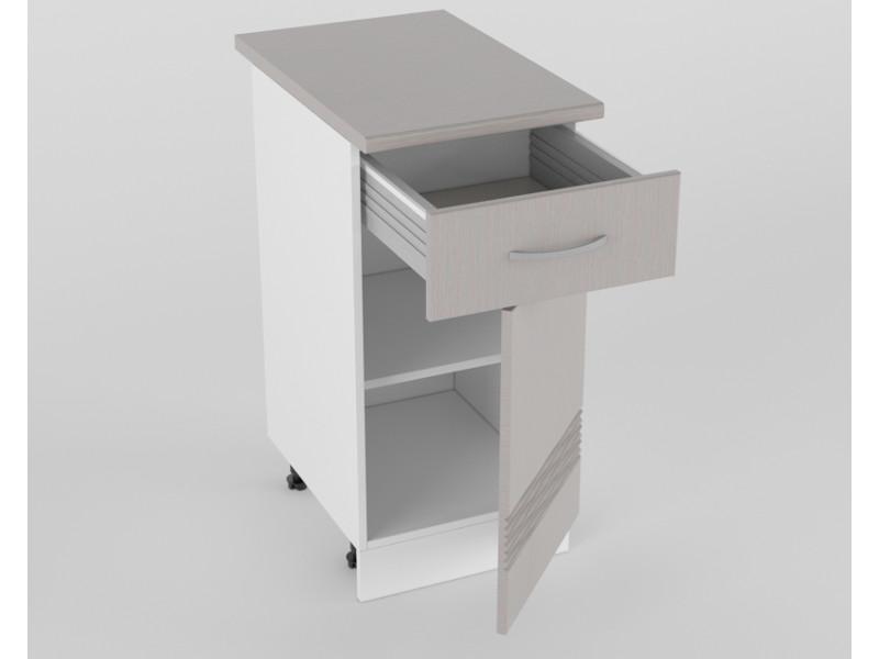 Нижний шкаф Н 400 1 ящик 1 дверь 850х400х600