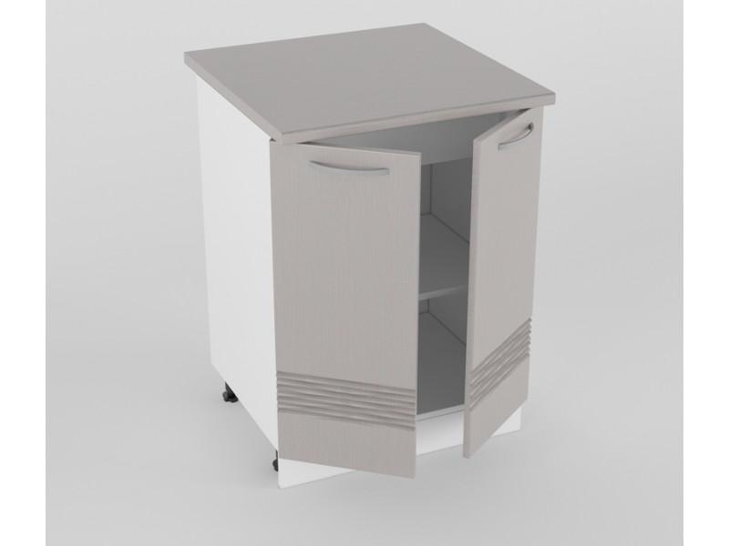 Нижний шкаф Н 600 2 двери 850х600х600