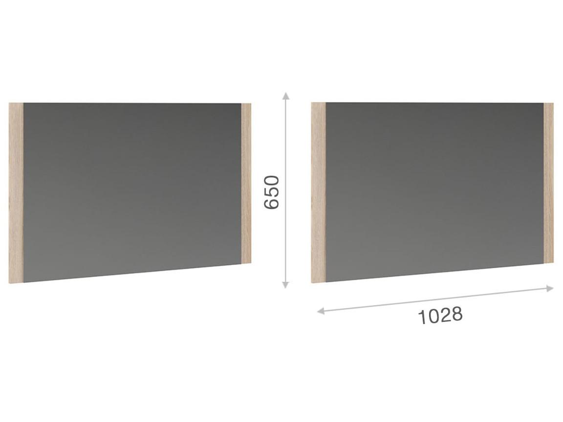 Зеркало 1028х650 мм