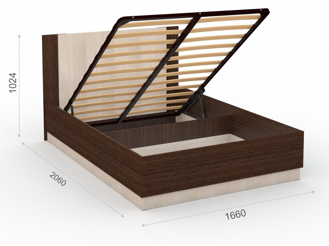 Кровать 160х200 с подъемным механизмом 15888