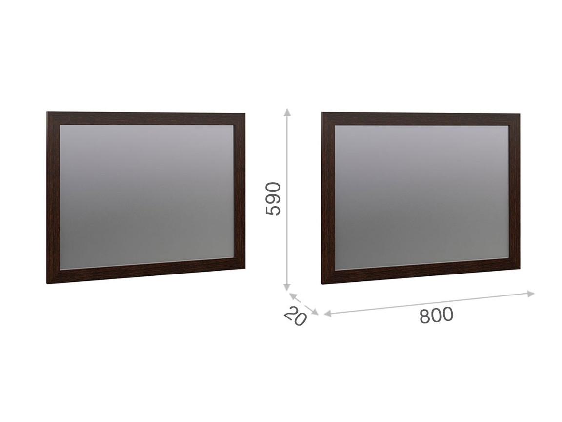 Зеркало 80 800х20х590 мм