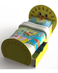 Кровать Солнышко 854х1432х731