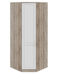 Шкаф угловой с 1-ой дверью левый СМ-223.07.006L 2178х896х896 мм
