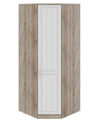 Шкаф угловой с 1-ой дверью правый СМ-223.07.006R 2178х896х896 мм
