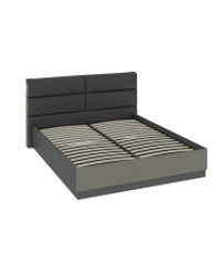 Кровать с мягкой спинкой и ПМ СМ-208.01.04 1000х1730х2146 мм Спальное место 1600х2000 мм