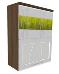 Шкаф-витрина с системой плавного закрывания дверей 17.80 600х320х830