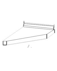 Столешница торцевая правая ПФК 03.30 пр. 300 мм. к столу 10.64.1