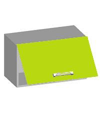 14.07 Шкаф навесной 600 с горизонтальным фасадом. Размер 600х320х360