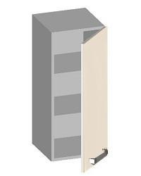 14.41 Шкаф навесной 300 с глухим фасадом. Размер 300х320х720