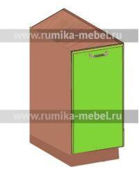 Тумба НУЗ 300 1 дверь Размер 300x600-550x850