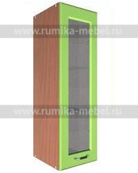 Шкаф В-400 1 дверь со стеклом Размер 400x300x900