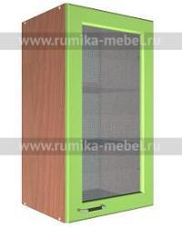 Шкаф В-400 1 дверь со стеклом Размер 400x300x720