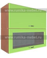 Шкаф В-800 2 газ с 1 стеклом Размер 800x300x720