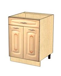 Стол с 1 ящиком метабоксы без столешницы 03.58.2 600х470х820
