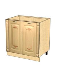 Стол с колоннами без столешницы 03.62.1 800х470х820