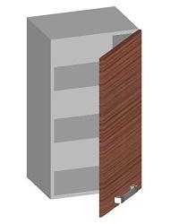 14.01 Шкаф навесной 400 с глухим фасадом. Размер 720х400х320