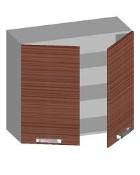 14.08 Шкаф навесной 800 с 2-мя глухими фасадами. Размер 720х800х320