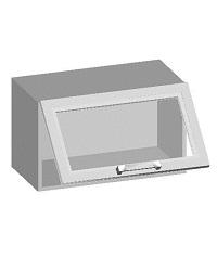 14.17 Шкаф навесной 600 со стеклянным фасадом. Размер 360х600х320