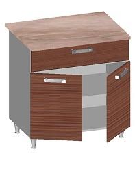 14.31 Стол-шкаф 800 с ящиком и 2-мя глухими фасадами. Размер 845х800х600