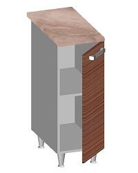 14.35 Стол-шкаф 300 с глухим фасадом. Размер 845х300х600