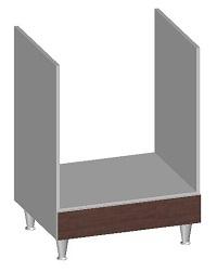 14.36 Встроенный шкаф 600 под духовку. Размер 845х600х600