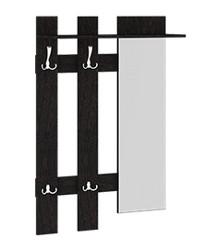 Вешалка с крючками и зеркалом Арт-мини 780х272х1180