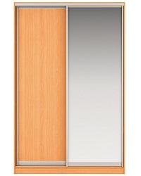 Шкаф-купе Джонни Вариант 3 Фасады ЛДСП и Зеркало Вес 130